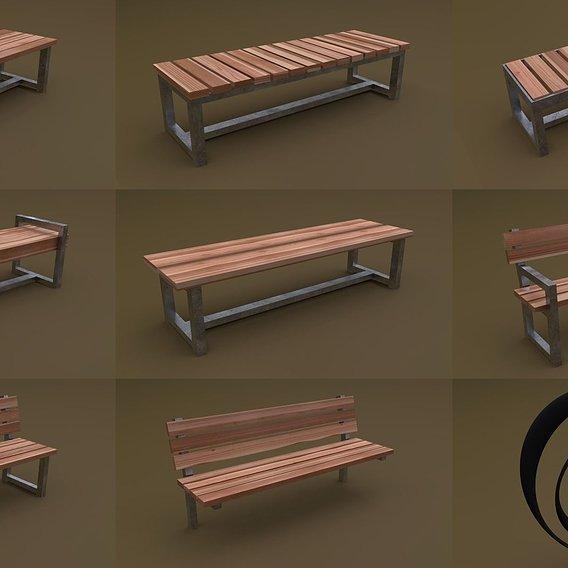 Bench Set 8M1T 02 RR