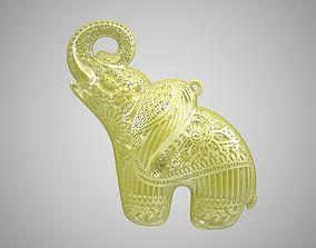 Elephant Necklace 3D print model