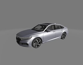 HONDA ACCORD SPORT SEDAN US 2018 3D MODEL READY FOR 3D