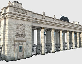 Gorky Park Entrance in Moscow Russia 3D model