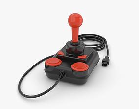 Joystick c64 3D model