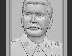 Stalin relief 3D printable model