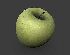 Green Apple 3D asset