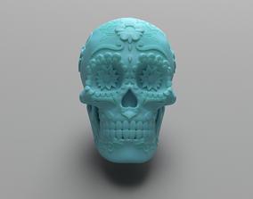 3D print model Mexican Sugar Skull