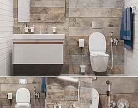 Bathroom set part 1 3D