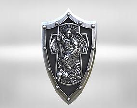 3D printable model archangel Michael cross