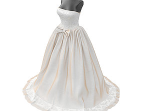 bride 3D Wedding dress