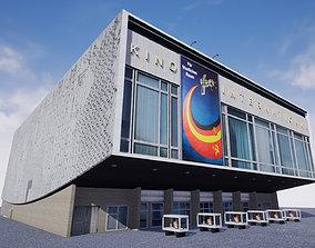 3D asset Cinema Kino International in Berlin