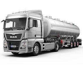 3D model MAN TGX XLX Fuel Tank