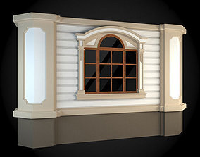 Wall apartment traditional 3D model
