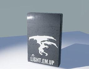 Animated Lighter 3D model