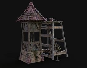 3D asset Archi oilmill