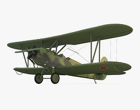 3D model PO 2 Plane