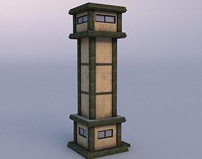 3D asset Watchtower 03