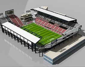 Audi Field DC Stadium 3D asset