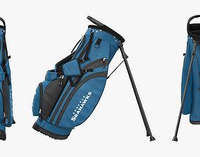 Golf Bag Seahawks 3D