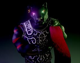 Panther warrior 3D model