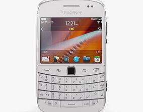 3D asset BlackBerry 9900 Pure White