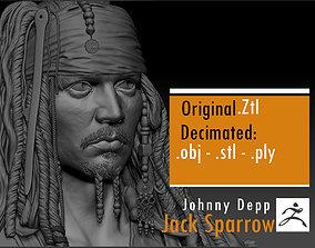 3D print model Jack Sparrow