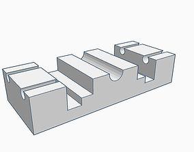 Zeller rollerstand trolley H0 3D print model