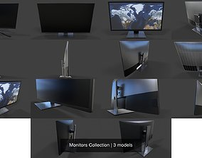 3D model Monitors Collection
