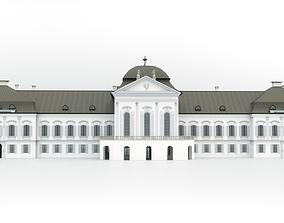Presidential palace - Bratislava Slovakia 3D model