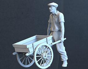 3D printable model farmer