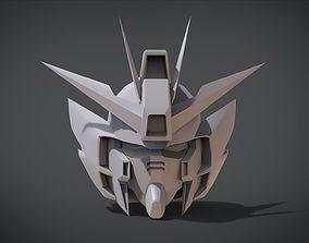 3D printable model Wing Gundam Zero Head