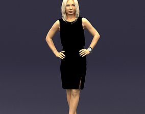 Hands on hips woman 0396 3D