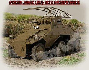 STEYR ADGZ M35- FU- SPAHWAGEN 3D