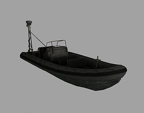 3D model cutter Patrol boat