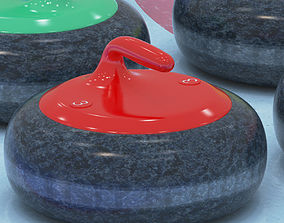3D model Curling collection