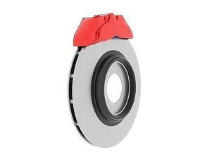 Brake Rotor 3D model