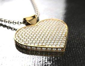 necklace PEND 0005b 3D printable model