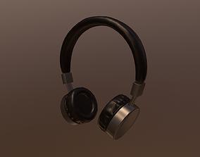 3D Headphones model VR / AR ready