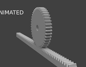 3D pinion rank