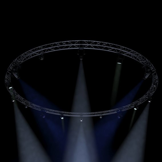 Circle Square Truss1000cm-Stage Lights