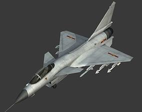 3D asset China PLA Air Force J-10C J-10B Fighter J10B J10C