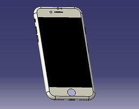 3D model IPHONE 7 realistic measures