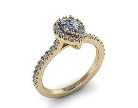 light Diamond Jewelry Ring 3D printable model