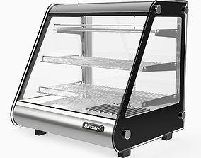3D model Counter Top Heated Merchandiser