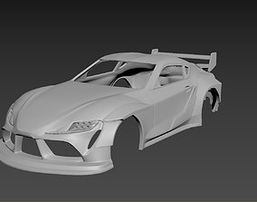 Toyota Supra 2020 Tuning Body For 3D printable model