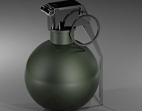 3D model Grenade M 67
