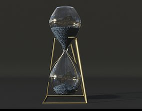 3D model Hourglass Lowpoly