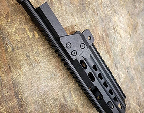 Slim Line Handguard for G36K 3D printable model