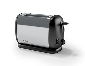 3D Toaster Single Slot Moulinex