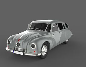 3D asset Tatra T87 1936