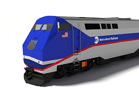 3D P32AC-DM Metro-North Locomotive