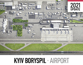 3D asset Kyiv Boryspil Airport