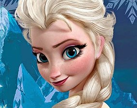 Frozen Elsa Cookie-Fondant Cutter with 3D print model